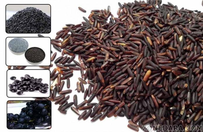 คุณประโยชน์ผักผลไม้สีดำ 5 ชนิด