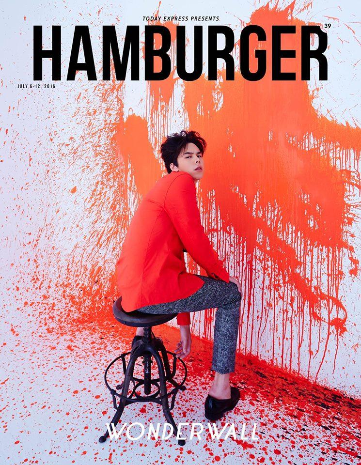 พีช พชร จิราธิวัฒน์ นิตยสาร HAMBURGER