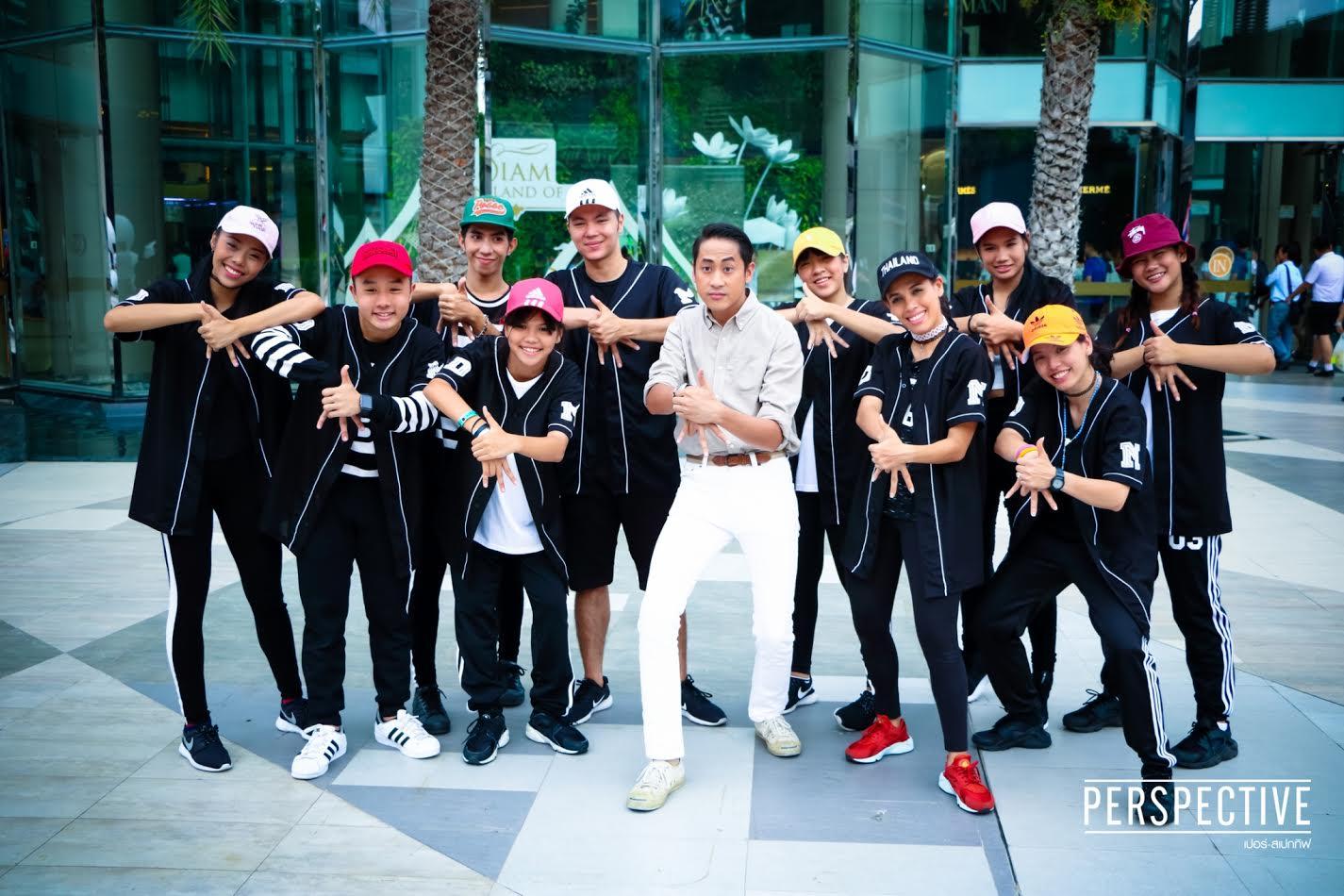 นำทีม D-MANIAC ฮิปฮอปแดนซ์ทีมชาติไทย