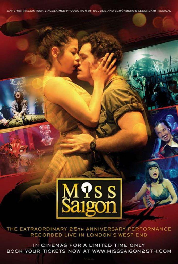 Miss Saigon มิสไซ่ง่อน บันทึกการแสดงสดฉลองครบรอบ 25 ปี