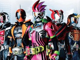 Kamen Rider 2017 รวมพล 5 มาสค์ไรเดอร์ ปะทะ ดร. แพ็คแมน