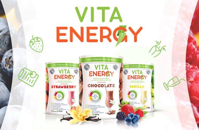 เครื่องดื่มค็อกเทลโปรตีน Vita Energy หุ่นเพรียวไม่อ้วน!