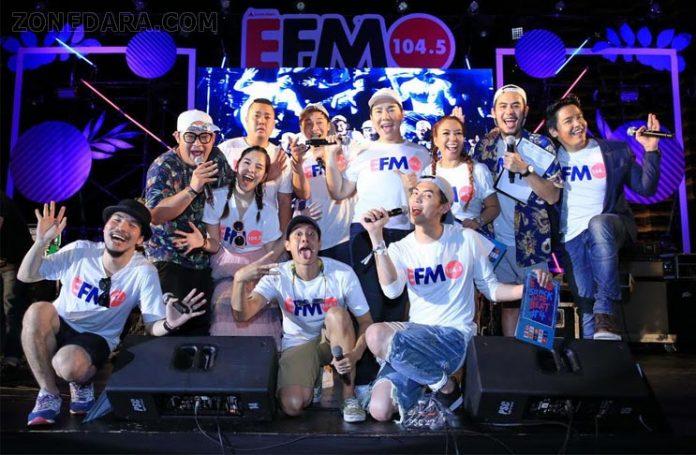 ดีเจซุปตาร์นำทัพ 6 ศิลปิน มันส์ติดว้าว!! ใน EFM Six Pack on The Beat #4