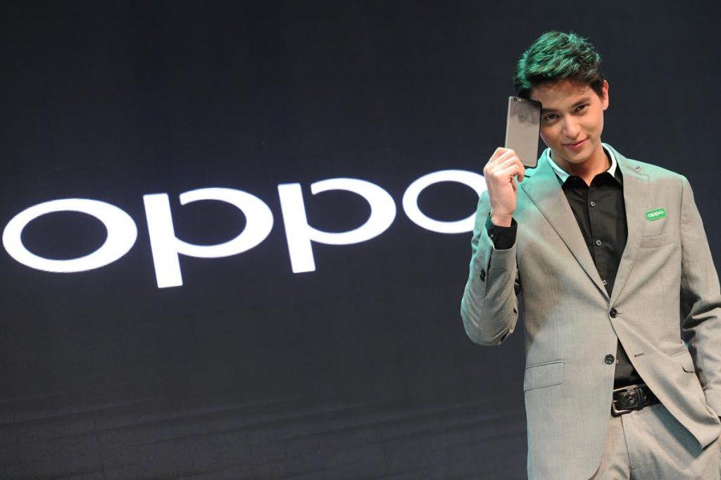 เจมส์ จิรายุ : พรีเซ็นเตอร์ OPPO R9s Black Edition
