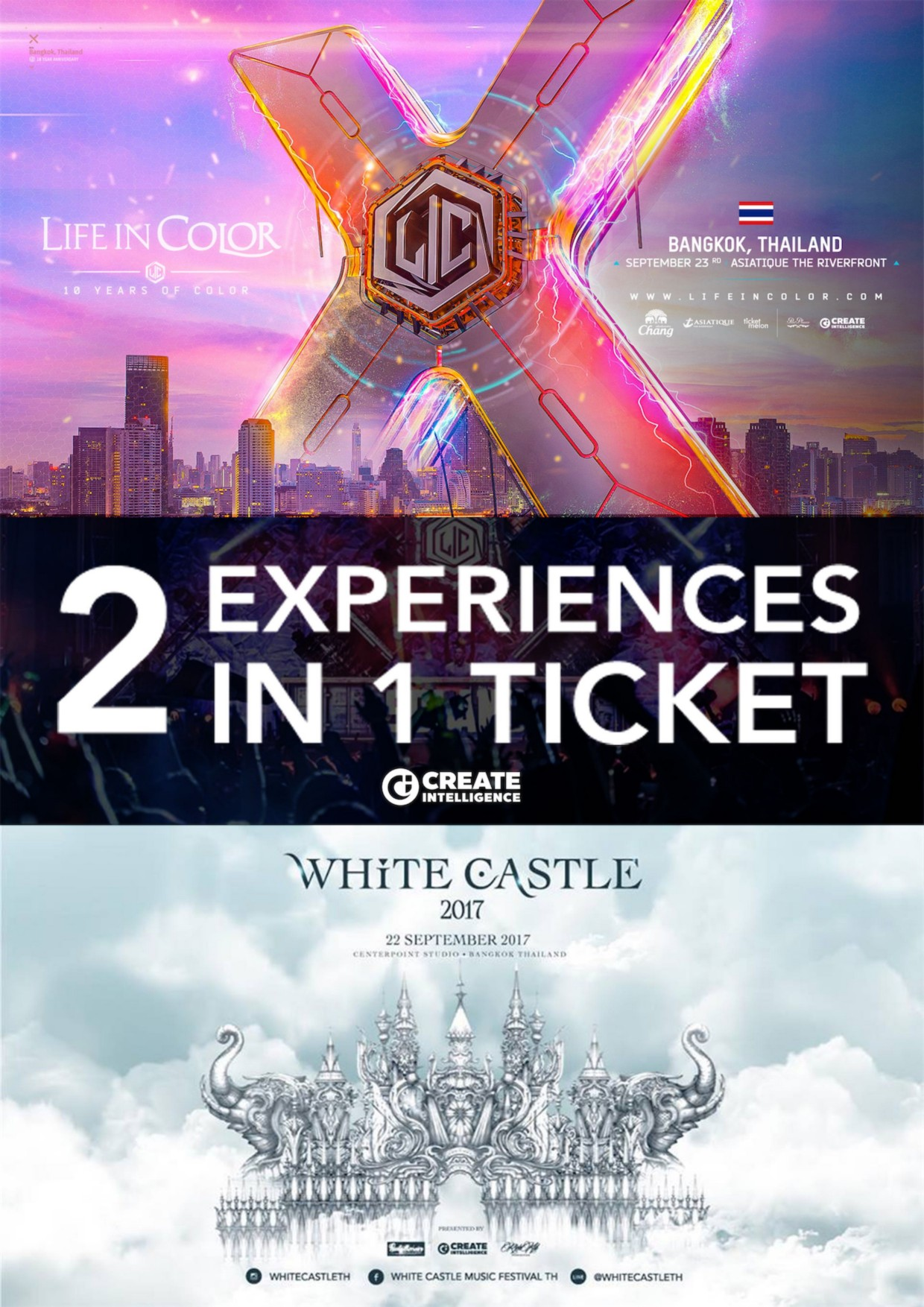 2 EXPERIENCES IN 1 TICKET