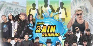 """โจอี้ บอย ฟิตจัด ชวนวิ่งฝ่าสายฝนในงาน """"วิ่งเต้น"""""""