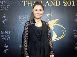 """""""ปนัดดา"""" ทิ้งไมค์ นั่งแท่นจัดประกวด """"Miss All Nations Thailand 2017"""" เขย่าวงการขาอ่อน"""