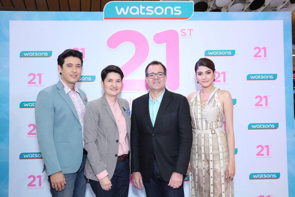 เหล่าดาราดัง ร่วมฉลองครบรอบ 21 ปี วัตสัน ประเทศไทย