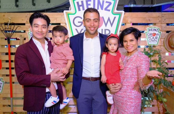 ครอบครัวโอปอล-หมอโอ๊ค ร่วมแคมเปญ 'HEINZ GROW YOUR OWN'