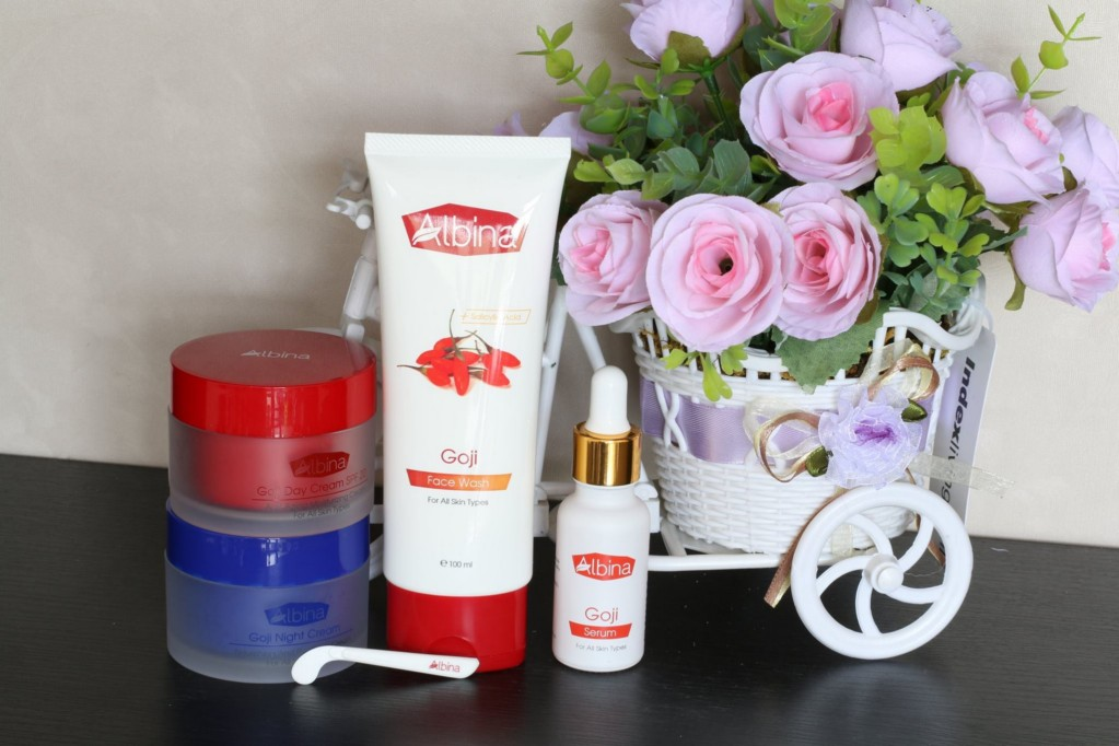 Albina Goji Set For Face