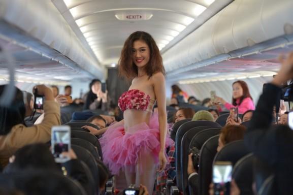 บิกินี่ดอกไม้ กรุงเทพฯ–ดาลัด  สายการบินไทยเวียตเจ็ท