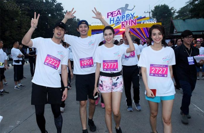 บอย – หยาด – น้ำฝน – รอน นำทัพวิ่งการกุศล PEA HAPPY RUN อยุธยา สุดคึกคัก นักวิ่งเข้าร่วมกว่า 3,000 คน