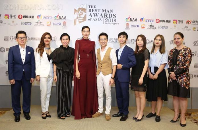 The Best MAN Awards of Asia in Bangkok 2018