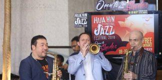 """โก้ มิสเตอร์แซกแมน"""" สานต่อความสำเร็จเทศกาลดนตรีแจ๊สประจำปีของไทย"""