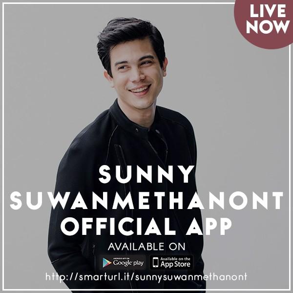 Sunny Suwanmethanont Official App