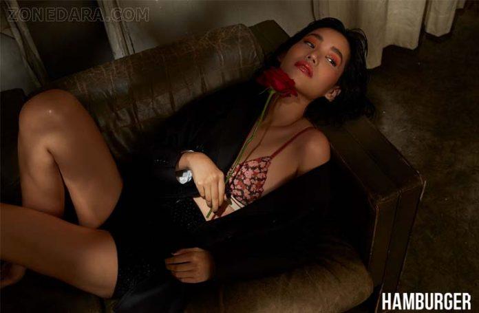 คิทตี้ ชิชา ยกระดับความเซ็กซี่แบบอินเตอร์ลงปก นิตยสารแฮมเบอร์เกอร์