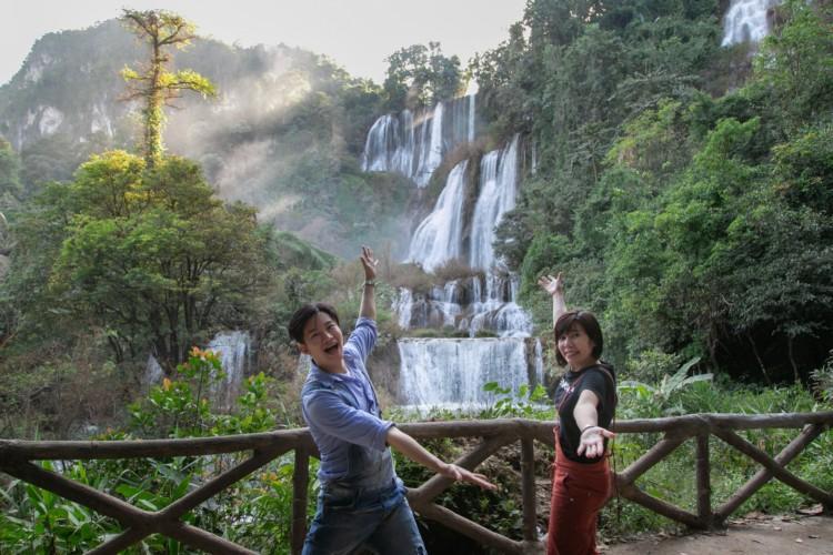 ทีลอซู ทำ อั๋น-อ้อย-โอปอ ใจสั่น  สวยอลังการ สมตำแหน่งน้ำตกที่ใหญ่สุดในไทย