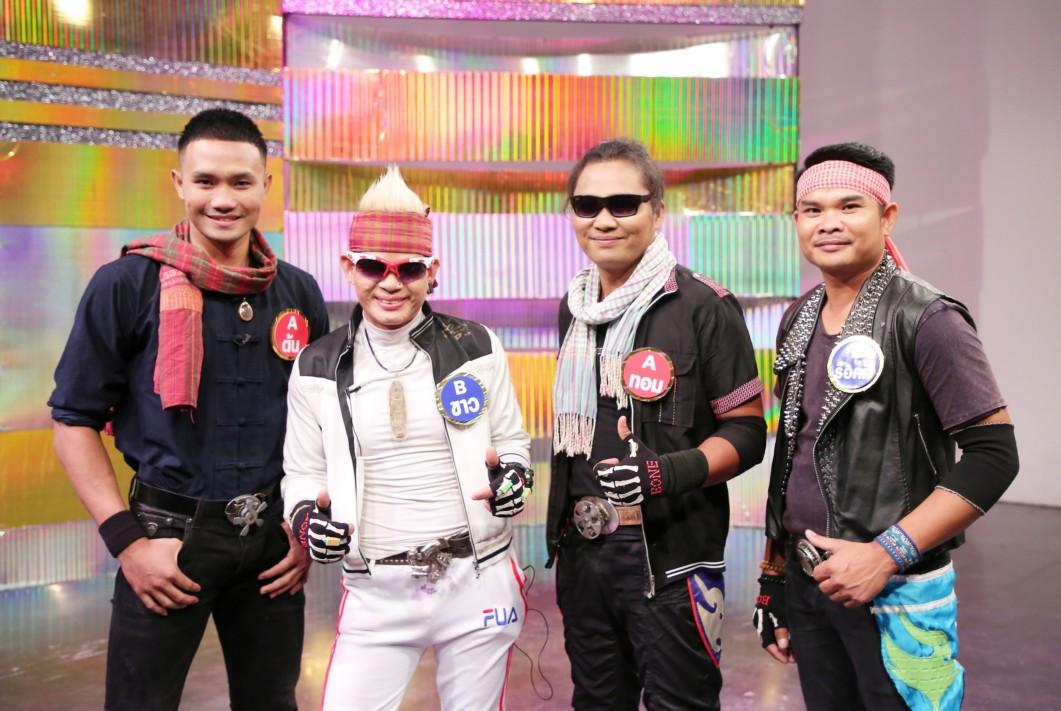 4 ผู้เข้าแข่งขันเงาเสียงไหมไทย