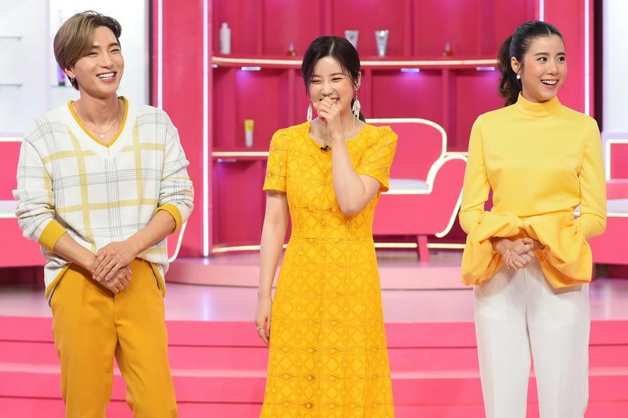 """ดีเจนุ้ย ตัวแทน """"พิ้งค์แพนด้า"""" ประกบ 2 สาว APINK ฮาน้ำตาเล็ดพร้อมเคล็ดลับความงามสไตล์เกาหลี ใน BEAUTY No.9"""