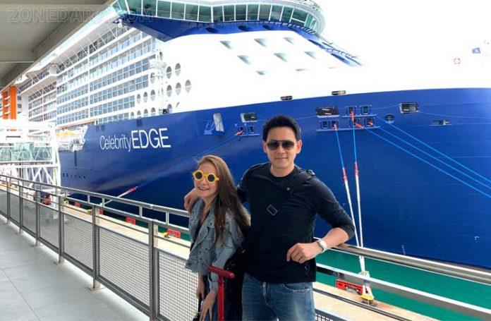 ฟลุค&ลี ตัดริบบิ้นพันล้าน! ล่องเรือหรู Celebrity EDGE