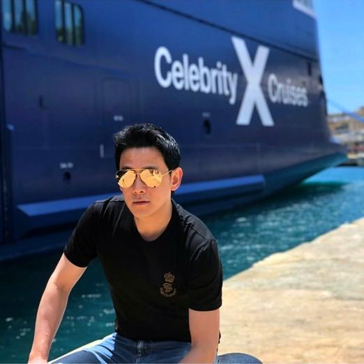 """""""ฟลุค&ลี"""" ตัดริบบิ้นพันล้าน! ล่องเรือหรู Celebrity EDGE"""