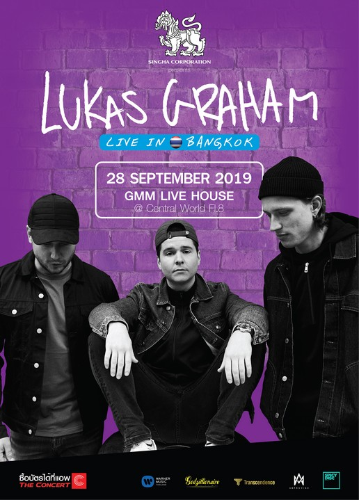 "Singha Corporation Presents ""LUKAS GRAHAM Live in Bangkok 2019"""