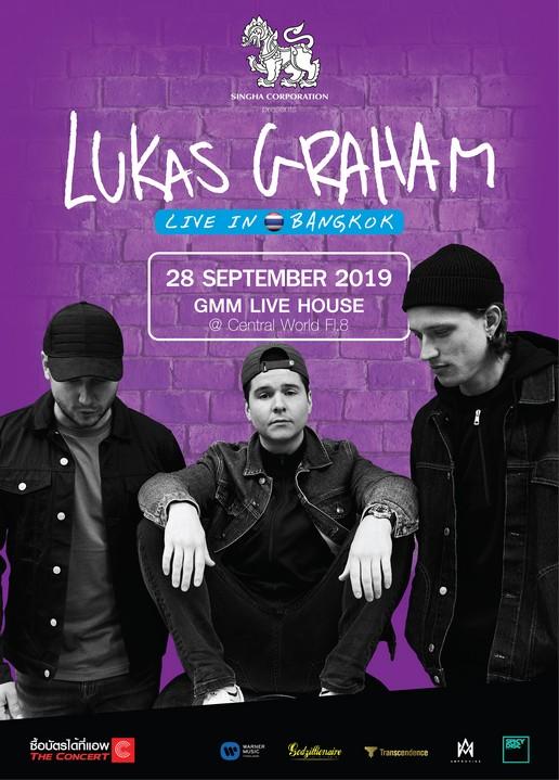 "Singha Corporation Presents""LUKAS GRAHAM Live in Bangkok 2019"""