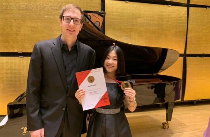 เนเน่-ทศเกิร์ล คว้ารางวัล Grand Prize Virtuoso International Music Competition 2019 Vienna Austria