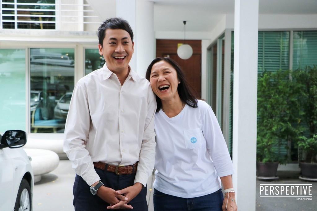 """เปอร์ สุวิกรม บุกบ้านหลังแรกในวงการบันเทิง  เปิดใจ """"จีน่า GDH"""" ผู้บริหารแหล่งผลิตภาพยนตร์ไทย 100 ล้าน!!"""