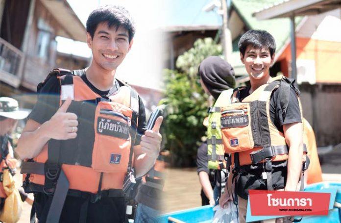 สุดสาคร-มังกร ปภาวิน นำทีมนักมวยไทยไฟท์และ ดาราช่อง 8 ลงพื้นที่ช่วยชาวปักธงชัย